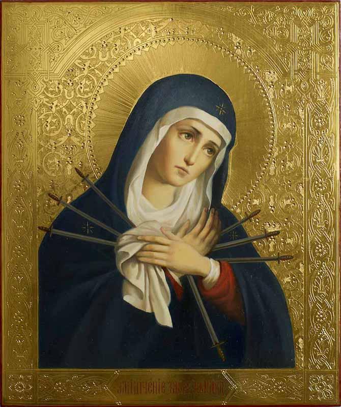 молитва богородица дева радуйся благодатная мария